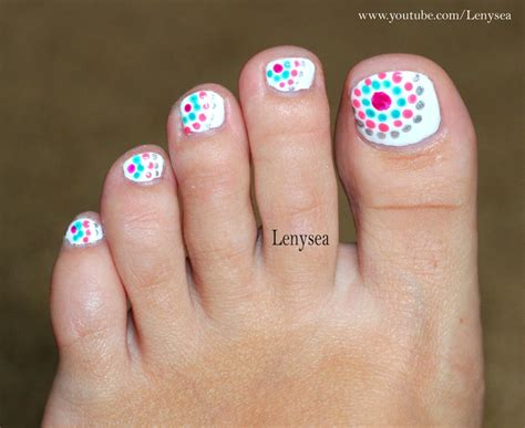 awesome easy at home toe nail designs gallery interior