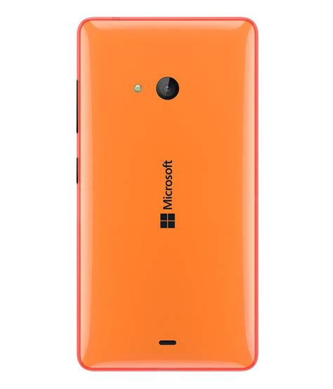 Microsoft Lumia 540 Di Malaysia microsoft lumia 540 original back panel orange plain back covers at low prices