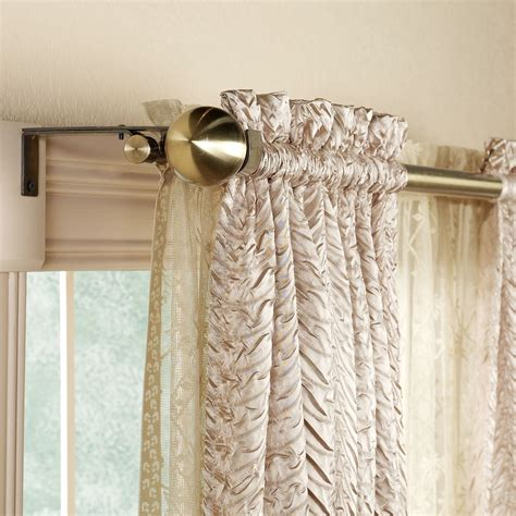 where to hang curtain rod where to hang curtain rods 9 the minimalist nyc