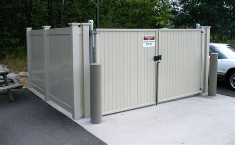 Dumpster Enclosures Fence Consultants Of West Michigan