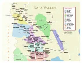 napa county wineries california map napa ca mappery