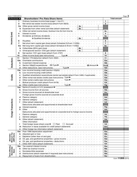 business tax return form 1120 form 1120 s income tax return for an s corporation 2013