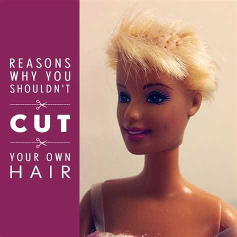 trimming short hair yourself 10 reasons why you shouldn t cut your own hair hair