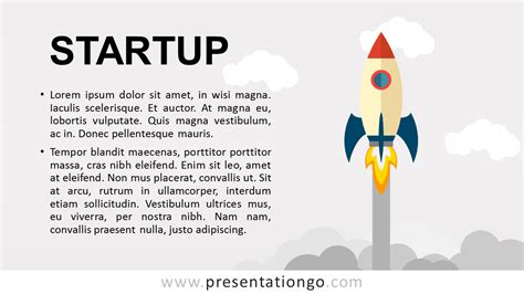 startup powerpoint template startup metaphor for powerpoint presentationgo