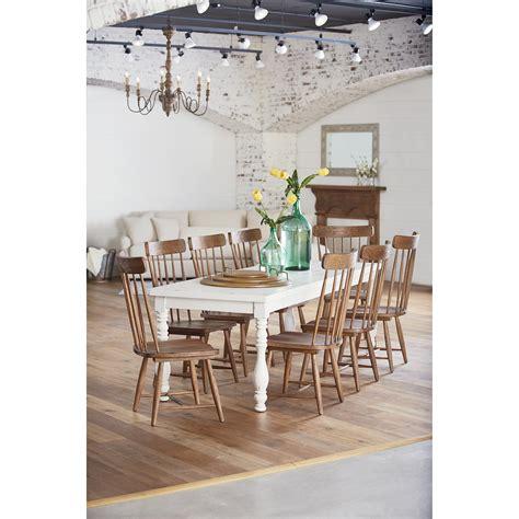 magnolia home furniture magnolia home by joanna gaines farmhouse 9 piece dining
