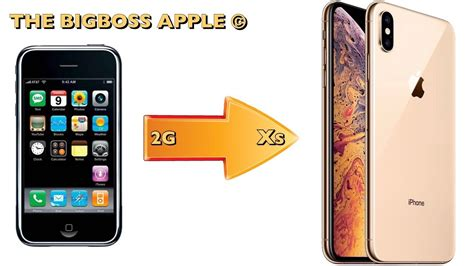 201 volution des pubs de l iphone 2g 224 l iphone xs max 2018