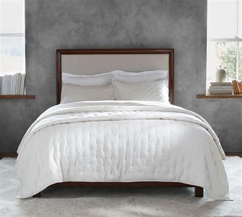 Pottery Barn Montgomery Headboard by Montgomery Bed Pottery Barn