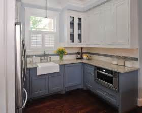 Kitchen Cabinets Two Tone Cerro I M Searching Out Two Tone Kitchen Inspirations I Found A Few