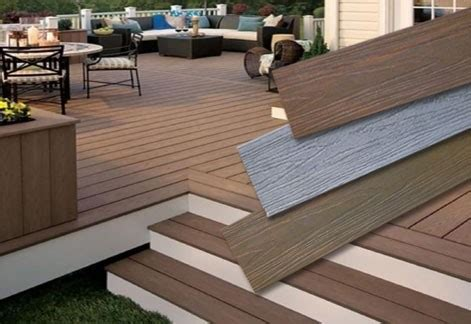 Planche De Patio En Composite by Plancher Patio Composite Menuiserie