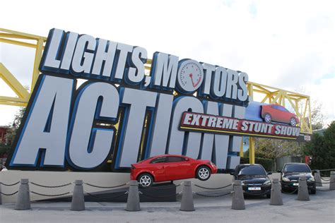 light motor lights motors stunt show in