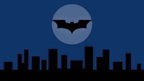 batman gotham city handy wallpaper