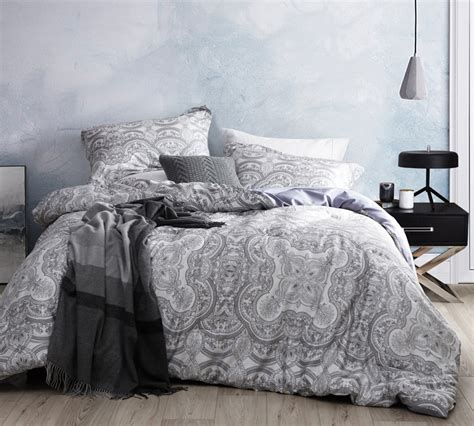 Gray Twin Xl Comforter Amazing Meridian Reversible Cotton Unique Xl Bedding