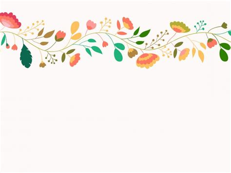 pattern background for ppt colorful flower pattern backgrounds presnetation ppt