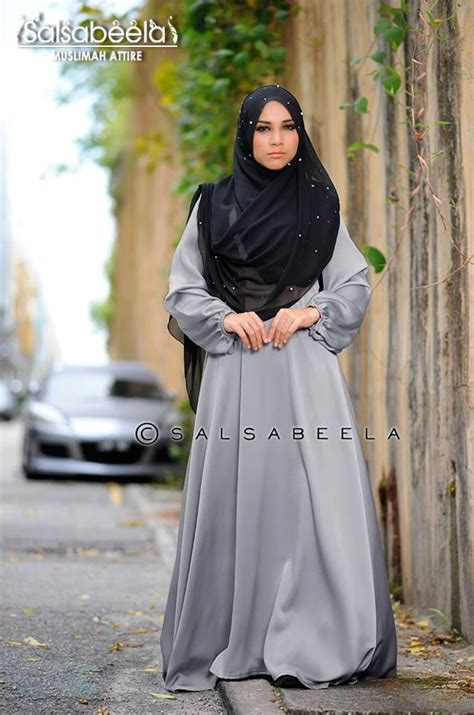 Muslim Fashion Style Grey 193 best islamitische kleding images on fashion styles and sleeve maxi