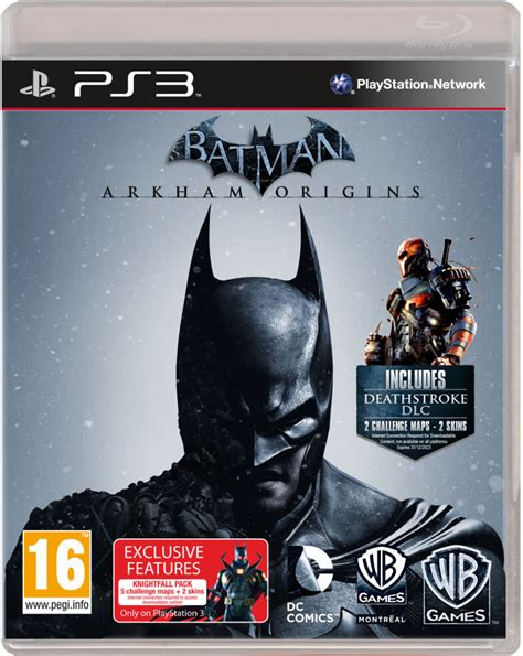 Ps3 Batman Arkham Origins New batman arkham origins ps3 zavvi