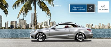 mercedes certified pre owned specials