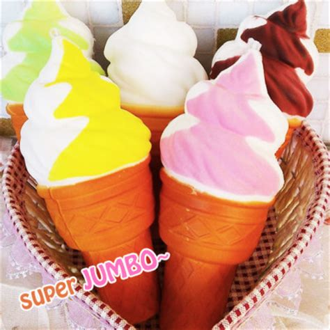 Chawa Soft Serve jumbo squishy soft serve