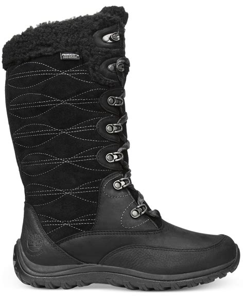 cold weather boots lyst timberland s willowood lace up cold weather