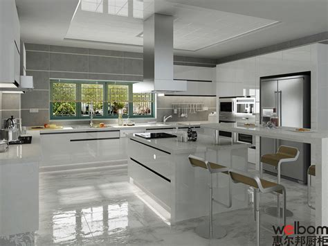 China 2015welbom Modern European High Gloss Kitchen European Style Modern High Gloss Kitchen Cabinets