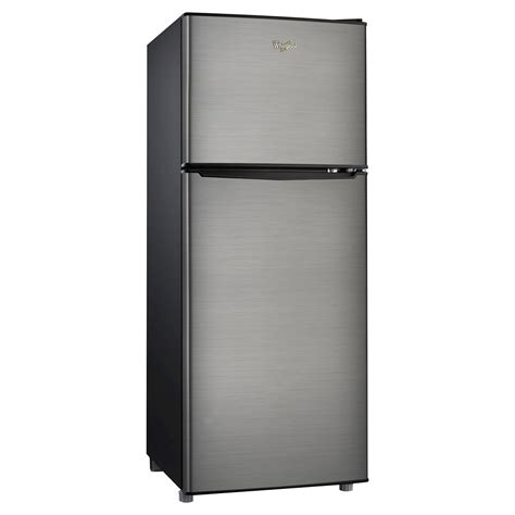 Cu Search Whirlpool 4 6 Cu Ft Compact Refrigerator Stainless Steel Silver Bcd 133v62