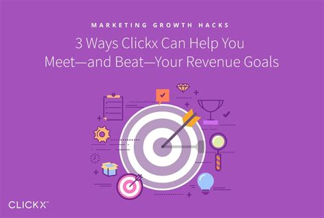 10 Ways Your Can Help You Meet by 3 Ways Clickx Can Help You Meet And Beat Your Revenue