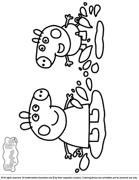 free peppa pig coloring pages to print peppa pig coloring pages in the coloring library
