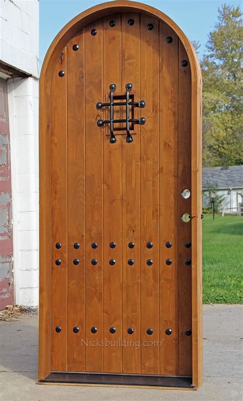 arch top exterior doors rustic top doors rustic arch top entry doors