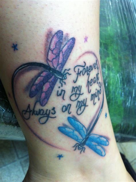 tattoos for lost loved ones dragonflies symbolize lost loved ones wow image