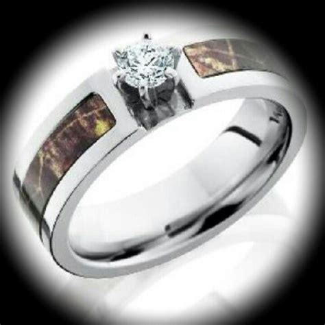 camo tattoo wedding bands engagement rings camo pictures to pin on pinterest