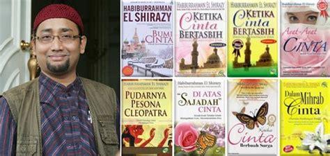 Buku Novel Api Tauhid Oleh Habiburrahman El Shirazy beberapa karya fenomenal habiburrahman el shirazy