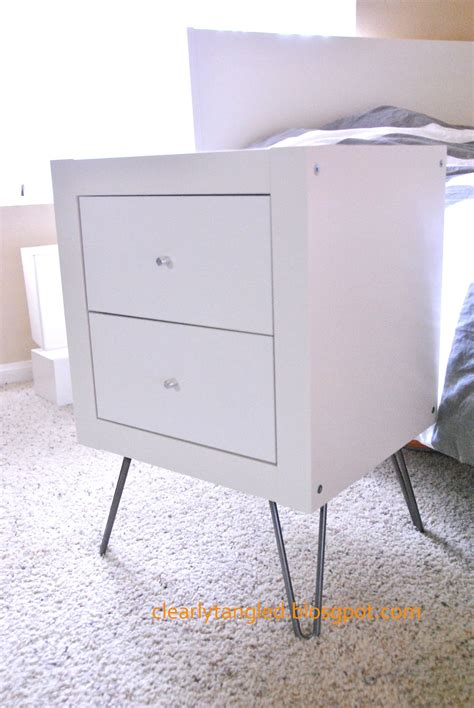 Shelf Nightstand by Clearlytangled Expedit Wall Shelf Gt Nightstand