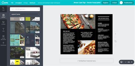 desain brosur promosi membuat desain brosur promosi terkini canva