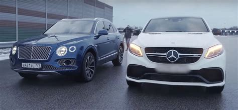 bentley mercedes bentley bentayga vs mercedes amg gle 63 coupe comparison