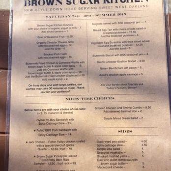 Brown Sugar Kitchen Menu by Brown Sugar Kitchen 1207 Photos Soul Food West
