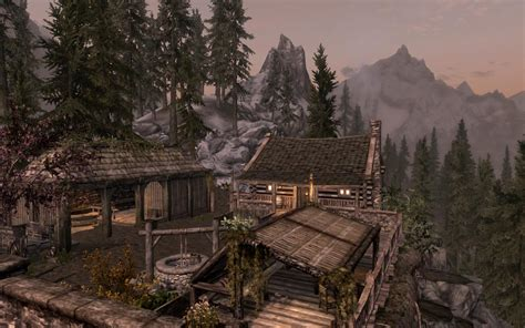 Mod Cabin by Lakeview Cabin At Skyrim Nexus Mods And Community
