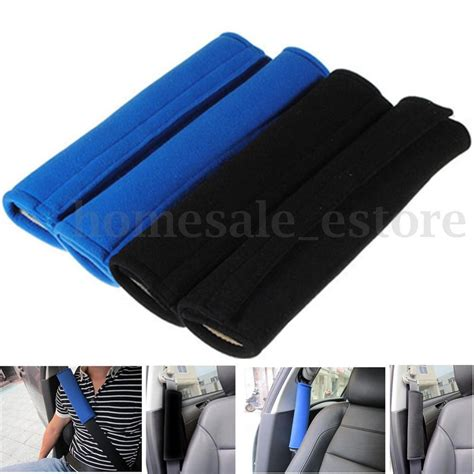 seat belt pads 2 pcs car safety seat belt shoulder pads cover cushion