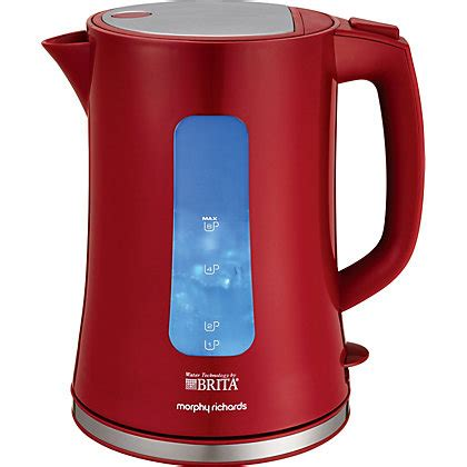 brita filter kettle small kitchen appliance electric morphy richards 120002 brita filter kett