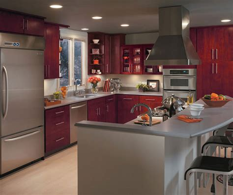 Masterbrand Cabinets One Touch by Burgundy Kitchen Cabinets Masterbrand