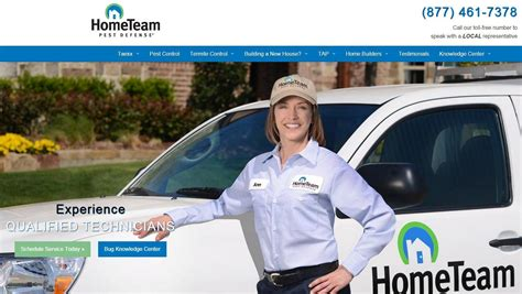 hometeam pest defense reviews real customer reviews