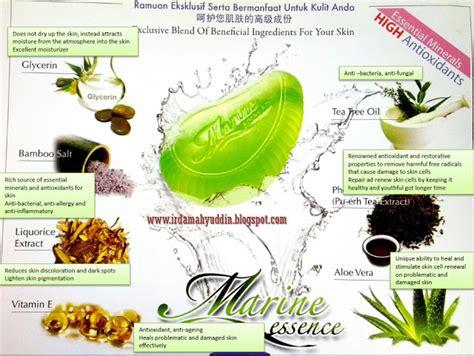 Sabun Tea Tree premium beautiful by intan farvin marine essence bar the green