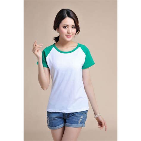 Tshirt Kaos Pull kaos polos katun wanita o neck size m 86205 t shirt black jakartanotebook