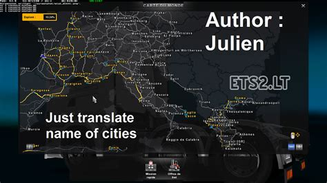 ets 2 europe africa map 5 5 translation of the names of cities tsm in ets 2 mods