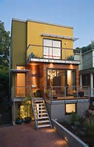 Small Houses Projects Se Small Lot Portland Oregon Modern House