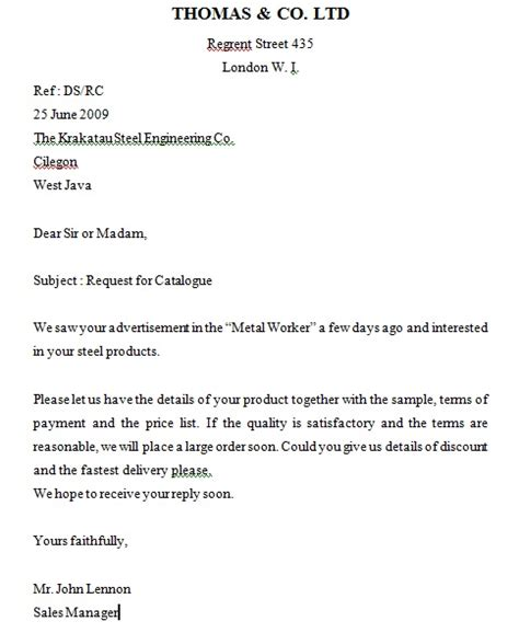 Contoh Offer Letter Barang pengertian dan jenis jenis surat irfan