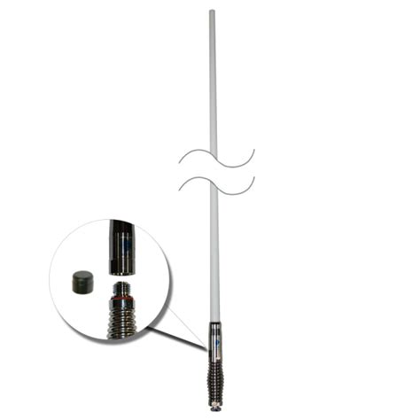 rfi cdq 7195 white high gain removable 3g 4g lte 4gx mobile phone antenna