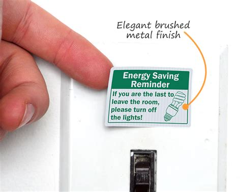 how do you turn on lights light switch decals