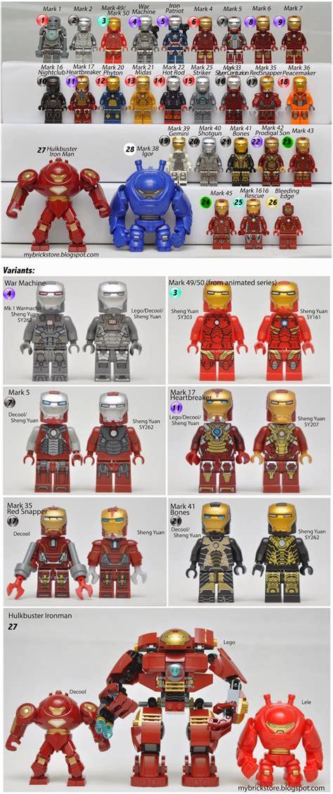 brick store list lego iron man updated april