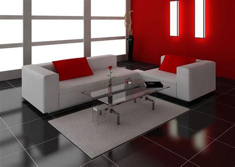 decorar salon en rojo negro  gris hogarmania