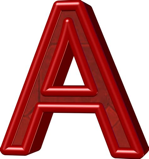 Letter A Images 3d letter a free stock photo domain pictures
