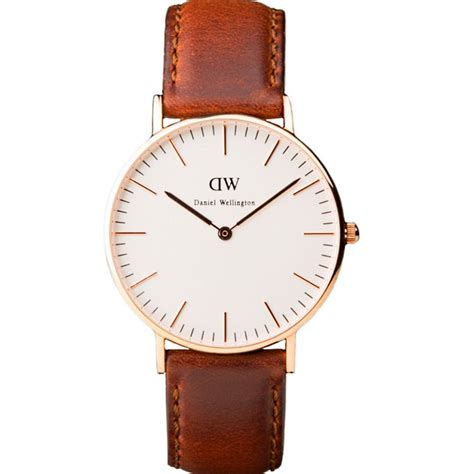 Dw Df1414 O Silver White Leather Black daniel wellington pictures